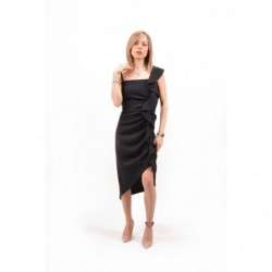 PINKO - Poly Crepe Dress...