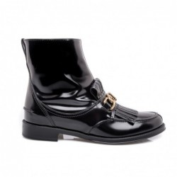 TOD'S - Leather Beatle Boot...