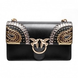 PINKO -Leather Bag LOVE...