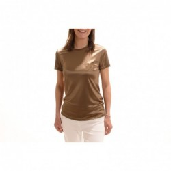 MAX MARA - Satin T-Shirt...