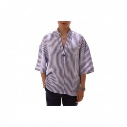 FAY - Striped linen shirt -...