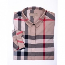 BURBERRY - Check patterned...