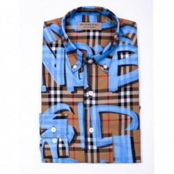 BURBERRY - Check printed...