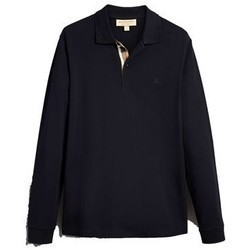 BURBERRY - Long sleeve polo...