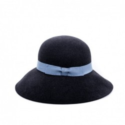 GALLO - Wide Brim Wool Hat...