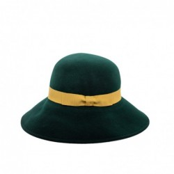 GALLO - Wide Brim Wool Hat-...