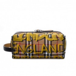 BURBERRY - Trousse in pelle...