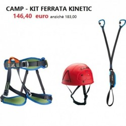 CAMP - Kit Ferrata Kinetic...