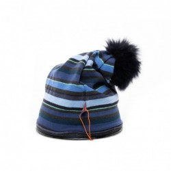 GALLO - Pom Pom Hat - Blue
