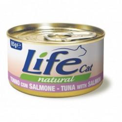 Life Cat Natural Salmone e...
