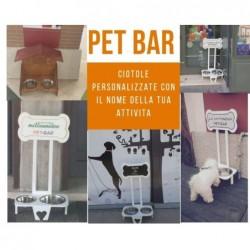 Pet Bar Ciotola personalizzata