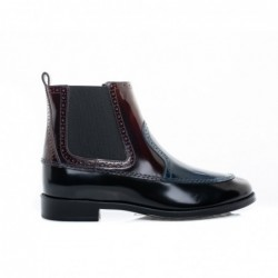 TOD'S - Leather Booties -...