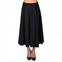 MAX MARA - Wool Wide Skirt...
