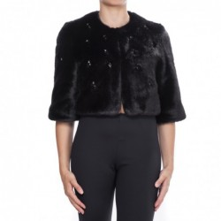 PINKO - Jacket in Ecofur -...