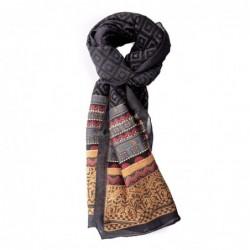 ETRO - Jacquard Wool scarf...