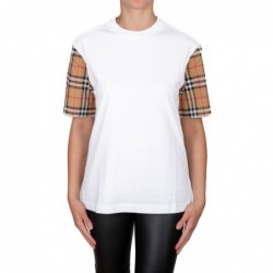 BURBERRY - Check cotton...
