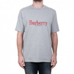 BURBERRY - Cotton T-shirt...