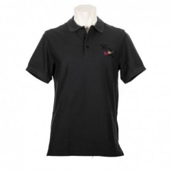 BURBERRY - Cotton Polo with...