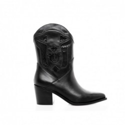 PINKO - TEXANO leather Boot...