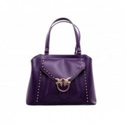 PINKO - Calf and Silk Bag...