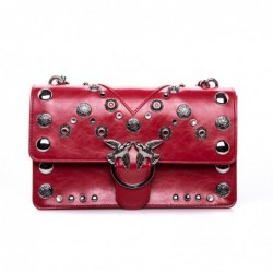 PINKO - LOVE Bag with Studs...