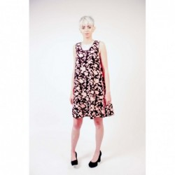 PINKO - Floral print Cady...