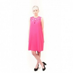 PINKO - Silk Crepe Dress...