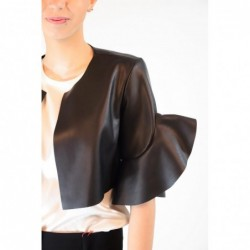 PINKO - Ecoleather Shrug...