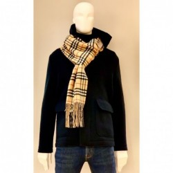 BURBERRY - Reversible scarf...
