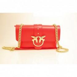 PINKO -Leather Bag MINI...