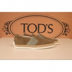 TOD'S - Suede Slip On -...