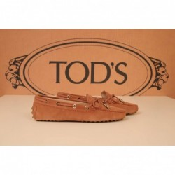 TOD'S - Suede Loafers - Pink