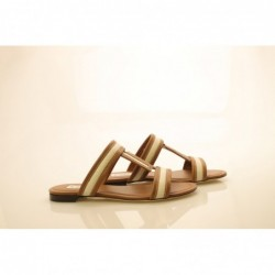 TOD'S - Leather Sandals -...