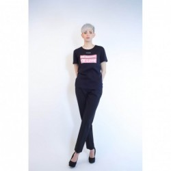 PINKO - Cotton T-Shirt...