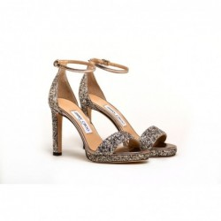 JIMMY CHOO - Glitter Sandal...
