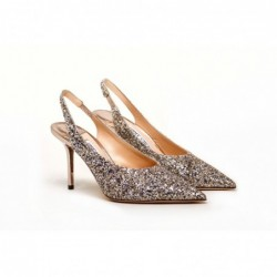 JIMMY CHOO - Slingback shoe...