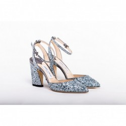 JIMMY CHOO - Glitter Pointy...